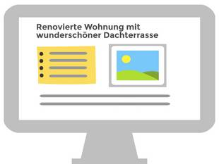 Immobilienanzeigen, SEO, Grafik: immowelt.ch